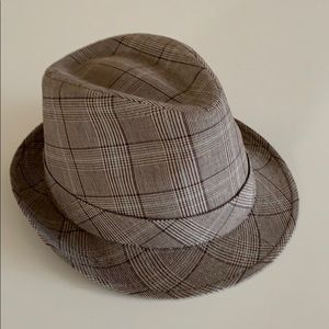 """Checkered gray """"walker""""hat 🎩 1930's style L/XL"""